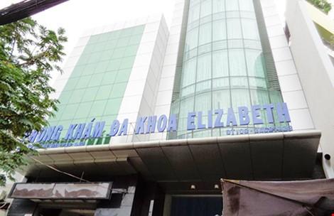 Phòng khám đa khoa Elizabeth là một trong 4 phòng khám bị Thanh tra Sở Y tế TPHCM xử phạt và kiến nghị Sở Y tế Thành phố tước giấy phép