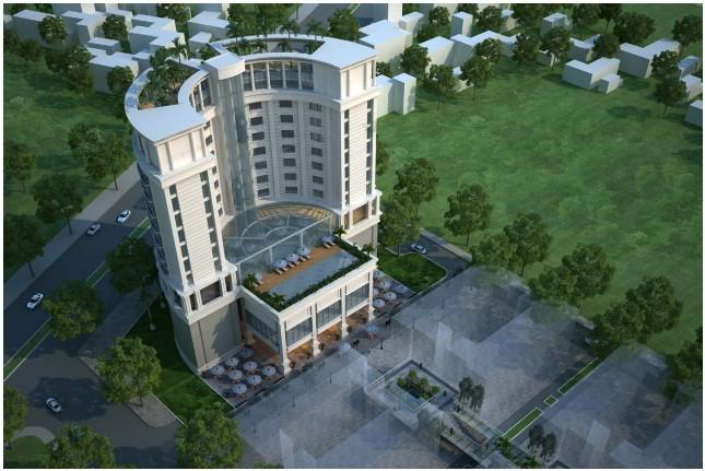 Phối cảnh Dự án Khu Khách sạn, nhà ở Xuân Phú Hưng.