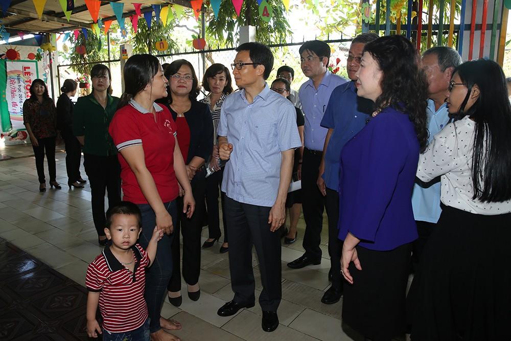 Phó Thủ tướng khảo sát một số nhóm, lớp mầm non ở Đồng Nai - ảnh 3
