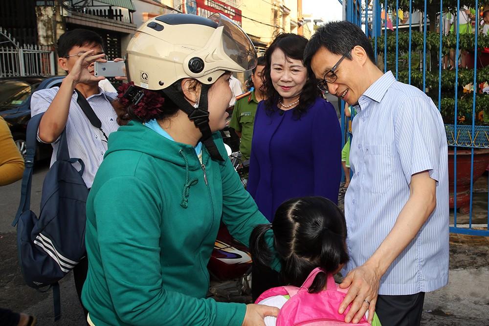 Phó Thủ tướng khảo sát một số nhóm, lớp mầm non ở Đồng Nai - ảnh 6