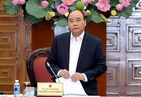 Thủ tướng phát biểu tại buổi làm việc. Ảnh: VGP