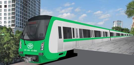 Dự án đường sắt đô thị thành phố Hà Nội tuyến Cát Linh - Hà Đông được ưu tiên lựa chọn kiểm toán. Ảnh Internet