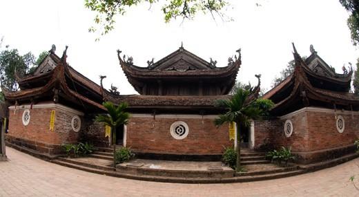 Một góc di tích kiến trúc nghệ thuật Chùa Tây Phương