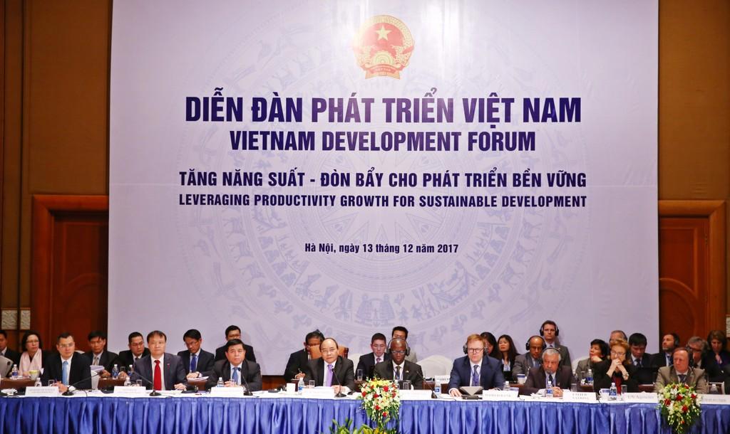 Quang cảnh Diễn đàn VDF 2017. Ảnh: Lê Tiên
