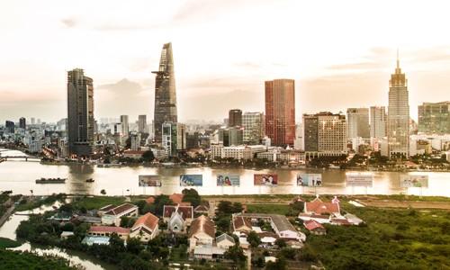 Nhu cầu thuê văn phòng tại thị trường TP HCM đang không ngừng tăng cao. Ảnh: Lucas Nguyễn