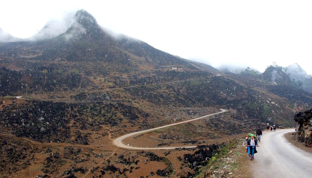 Dự án sẽ giúp cải thiện kết nối đường bộ giữa 4 tỉnh (Bắc Kạn, Cao Bằng, Hà Giang và Lạng Sơn). Ảnh: Tường Lâm