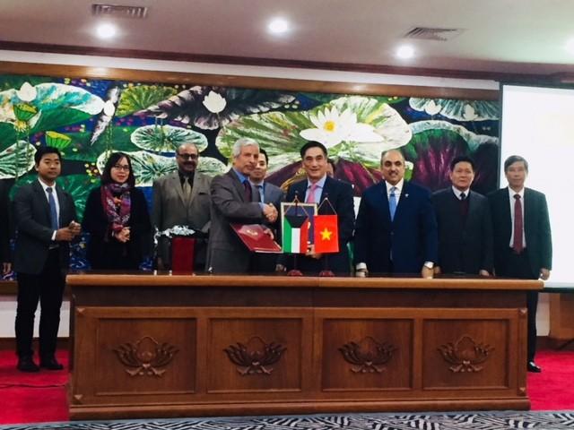 Lễ Ký kết tại Bộ Tài chính. Ảnh:VGP