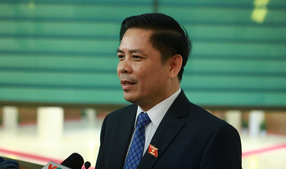 Ông Nguyễn Văn Thể, Bộ trưởng Bộ Giao thông vận tải. Ảnh Internet