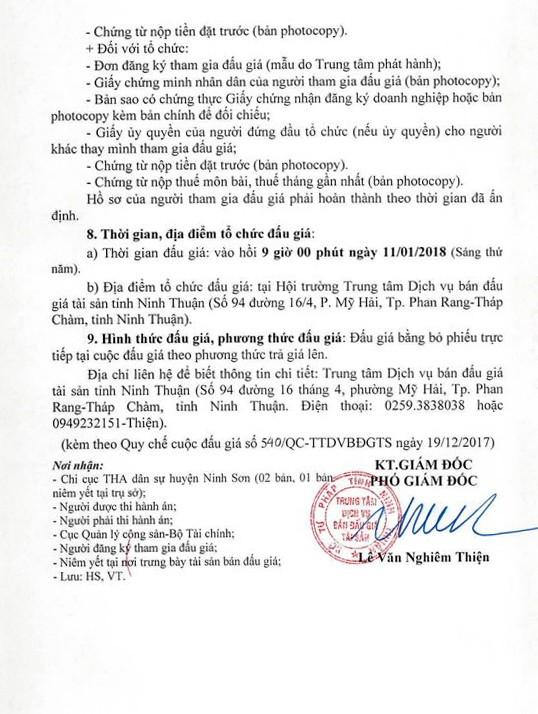 Đấu giá lô xe ô tô tải tự đổ tại Ninh Thuận    - ảnh 4