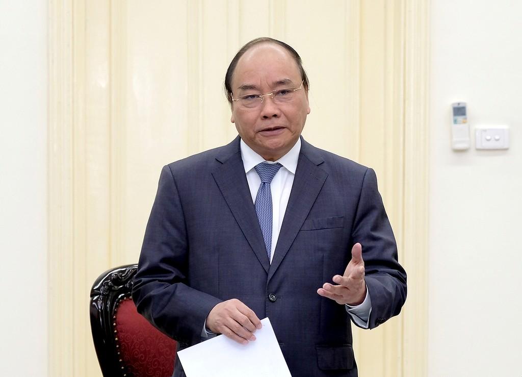 Thủ tướng đề nghị Tổ tư vấn tiếp tục nâng cao hơn nữa chất lượng tư vấn. Ảnh: VGP