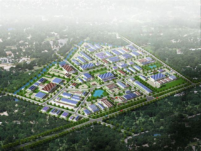 Tổng diện tích quy hoạch Khu công nghiệp Thạch Thất - Quốc Oai khoảng 150ha