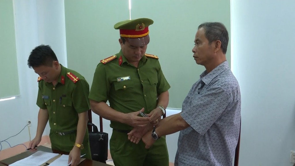 Ngày 2/8/2017, Công an tỉnh Đắk Lắk đã khởi tố bị can, bắt ông Ngô Quốc Vinh (56 tuổi) nguyên Giám đốc Agribank Krông Bông. Ảnh Internet