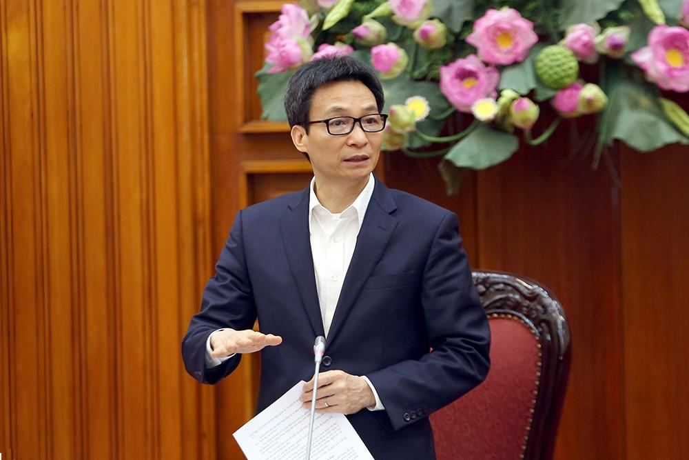 Phó Thủ tướng nhấn mạnh yêu cầu thực hiện bằng được đề án tái cơ cấu ngành du lịch. Ảnh: VGP