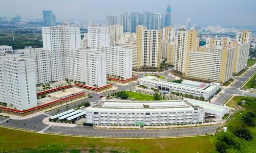Giá đất quanh khu tái định cư Bình Khánh cao nhất 150 triệu đồng mỗi m2.