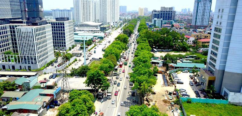 Dự án cầu cạn đoạn Mai Dịch-cầu Thăng Long sẽ khởi công vào 6/1/2018.