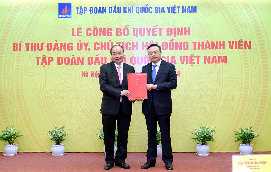Thủ tướng giao 7 nhiệm vụ cho tân Chủ tịch PVN - ảnh 1