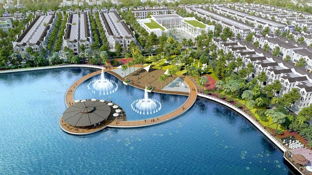 Phối cảnh dự án Lakeside Splendora. Ảnh Internet