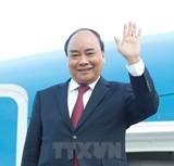 Thủ tướng lên đường dự Hội nghị Cấp cao hợp tác Mekong-Lan Thương