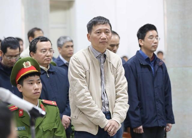 """Trịnh Xuân Thanh - """"thuyền trưởng"""" PVC ngày nào - bị cáo buộc cùng đồng phạm tham ô số tiền 13 tỉ đồng và đã khắc phục hậu quả."""