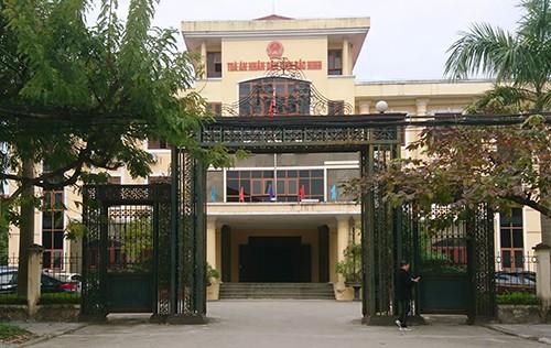 Tòa án nhân dân tỉnh Bắc Ninh nơi diễn ra phiên phân xử.
