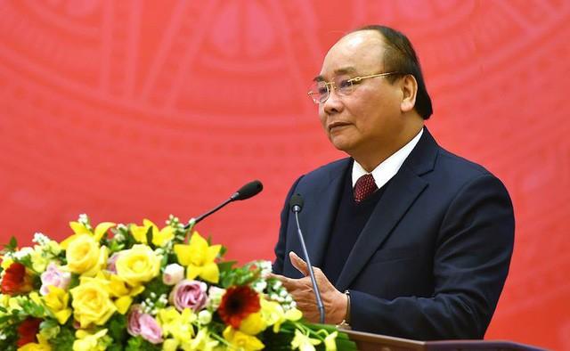 Thủ tướng Nguyễn Xuân Phúc cho rằng, ngành Công Thương đã biết vượt qua khó khăn, ảnh: VGP