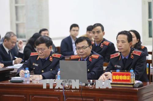 Chùm ảnh: Trịnh Xuân Thanh và đồng phạm nói lời nói sau cùng - ảnh 1