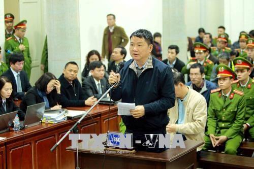Chùm ảnh: Trịnh Xuân Thanh và đồng phạm nói lời nói sau cùng - ảnh 2