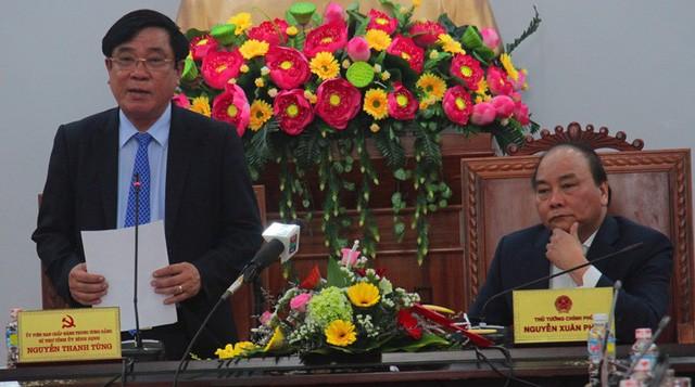 Bí thư Tỉnh ủy Bình Định Nguyễn Thanh Tùng tha thiết đề nghị Thủ tướng xem xét lấy lại cảng Quy Nhơn cho Nhà nước quản lý.