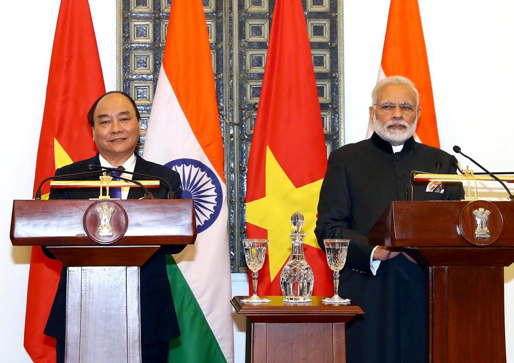 Hai Thủ tướng Việt Nam và Ấn Độ hội đàm - ảnh 1