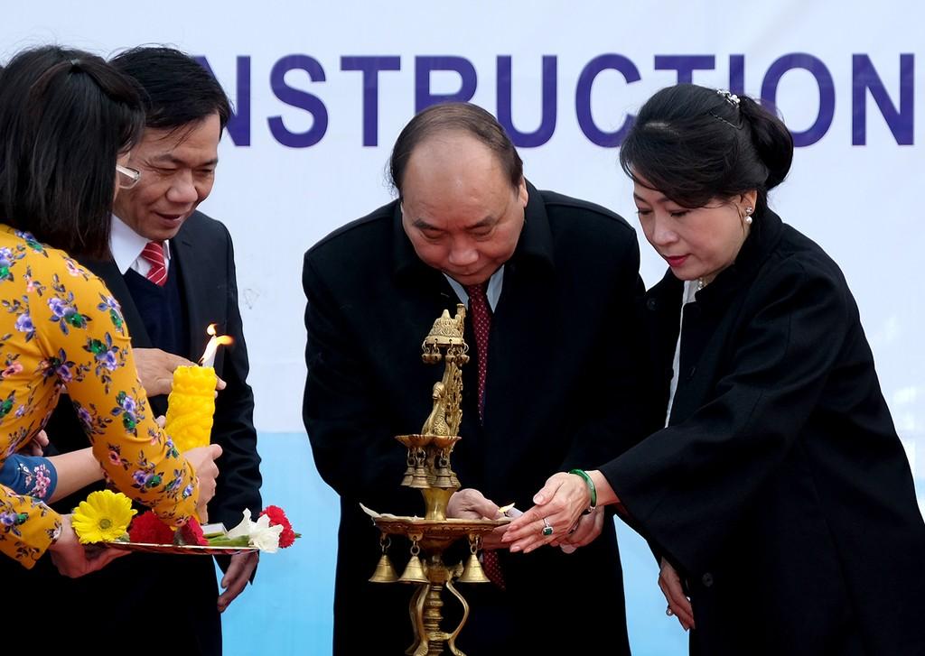 Thủ tướng dự lễ động thổ trụ sở mới Đại sứ quán Việt Nam tại Ấn Độ - ảnh 1