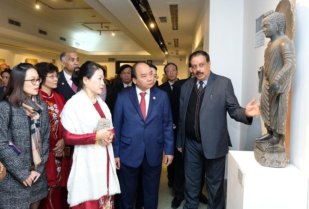 Thủ tướng dự lễ động thổ trụ sở mới Đại sứ quán Việt Nam tại Ấn Độ - ảnh 2