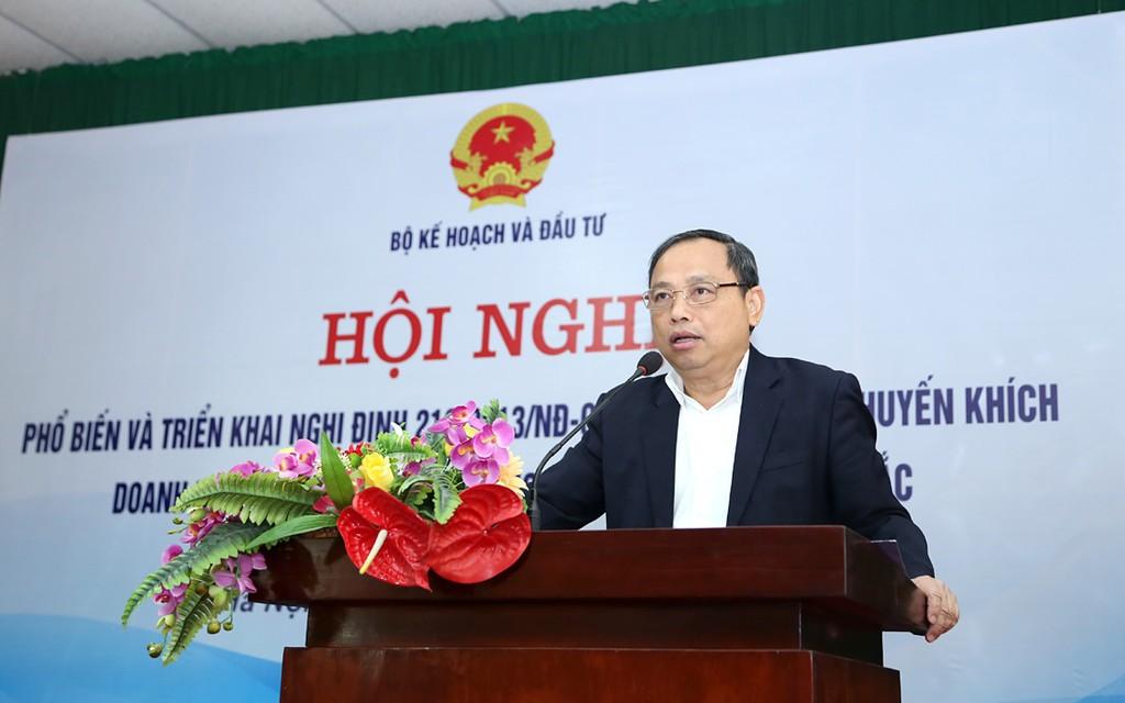 Thứ trưởng Bộ Kế hoạch và Đầu tư Nguyễn Văn Hiếu