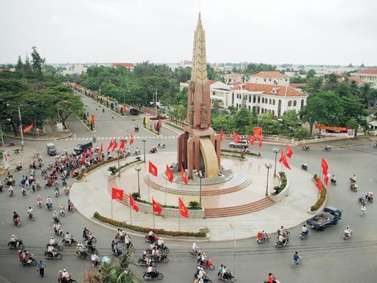 Một góc thành phố Cà Mau
