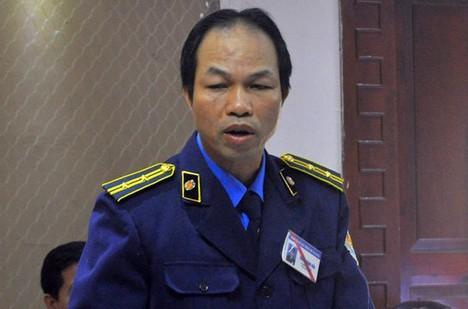 Ông Trần Đăng Hải - Chánh Thanh tra Sở GTVT Hà Nội