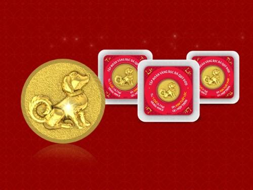 Đồng vàng được ưa chuộng dịp Tết.