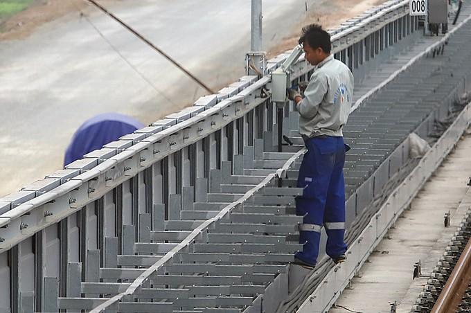 Đường sắt Cát Linh - Hà Đông gặp khó ở các hạng mục thi công cuối - ảnh 5