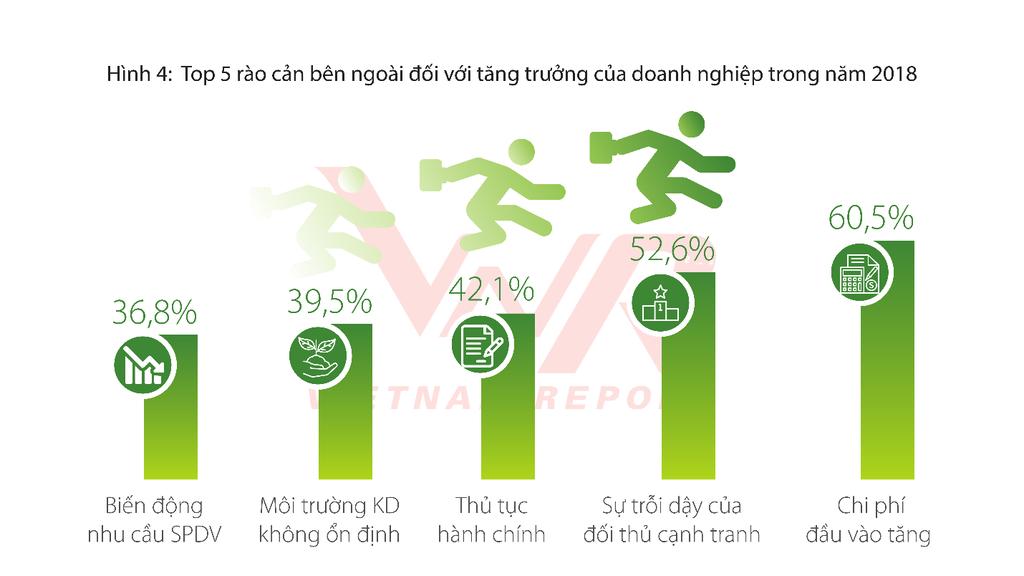 Nguồn: Vietnam Report, Khảo sát các doanh nghiệp FAST500, tháng 02/2018