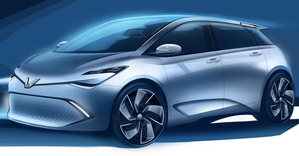 """EV1: Một trong các mẫu phác thảo thiết kế ô tô điện trong chương trình """"Chọn xế yêu cùng VINFAST - 2"""""""