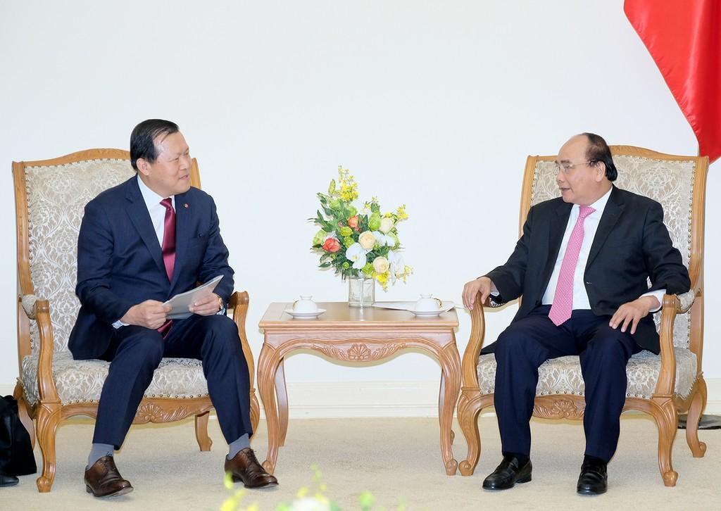 Thủ tướng mong muốn Tập đoàn Lotte hỗ trợ tiêu thụ nông sản - ảnh 1
