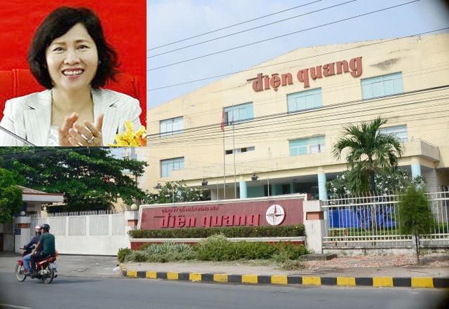 Nhóm cổ đông liên quan đến cựu Thứ trưởng Hồ Thị Kim Thoa nhận được quyền lợi khá lớn tại Điện Quang thông qua cổ tức