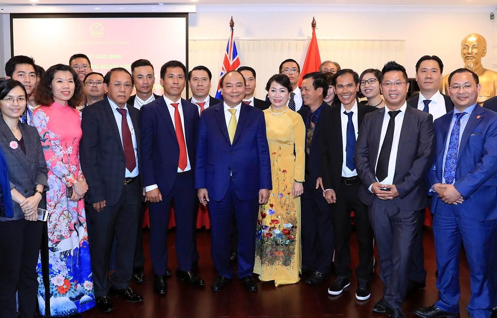 Thủ tướng gặp gỡ kiều bào tại Australia - ảnh 2