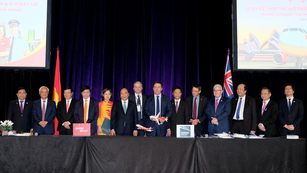 Vietjet công bố kế hoạch mở đường bay thẳng giữa Việt Nam và Australia - ảnh 1