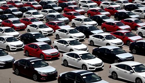 Trong tuần qua, chỉ 302 ôtô Honda được thông quan tại cảng Hải Phòng theo chính sách miễn thuế nhập khẩu.