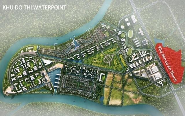 Tập đoàn Nam Long dự kiến sẽ khởi động siêu dự án Waterpoint tại Long An trong năm 2018.