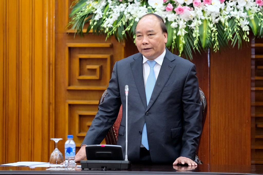 """Tại cuộc họp, Thủ tướng nhấn mạnh phương châm """"Hiệu quả, thiết thực, đoàn kết, an toàn"""" trong tổ chức Hội nghị GMS-6 và CLV-10. Ảnh: VGP"""