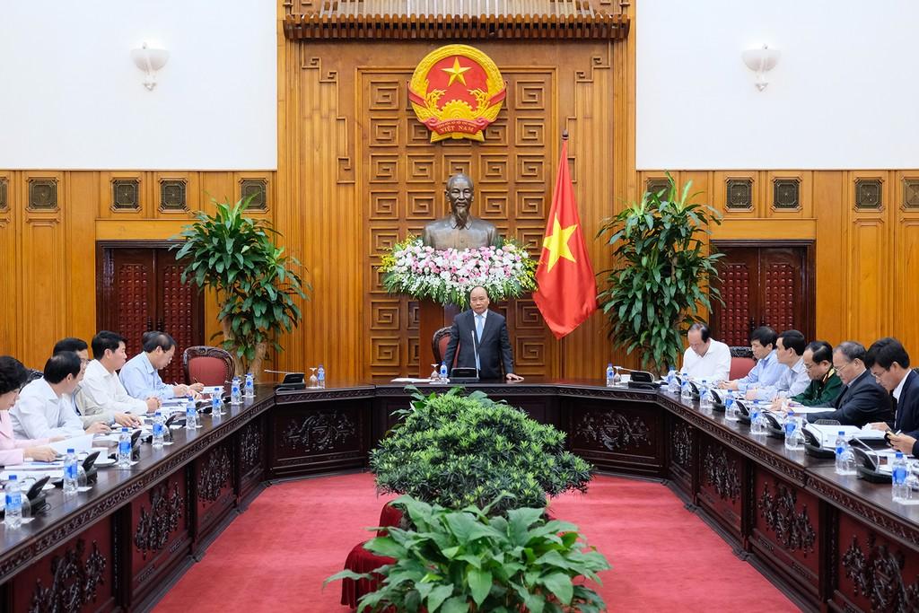 Thủ tướng chủ trì họp về công tác chuẩn bị cho hai Hội nghị đa phương lớn - ảnh 1