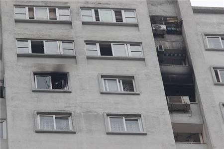 Hà Nội: Cháy ở chung cư CT5 Văn Khê, người dân bất bình vì thiết bị báo cháy không hoạt động - ảnh 1