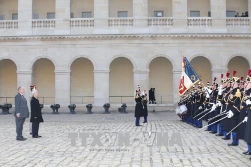Ngày 26/3, Lễ đón chính thức Tổng Bí thư Nguyễn Phú Trọng được tổ chức trọng thể theo nghi thức dành cho nguyên thủ quốc gia.