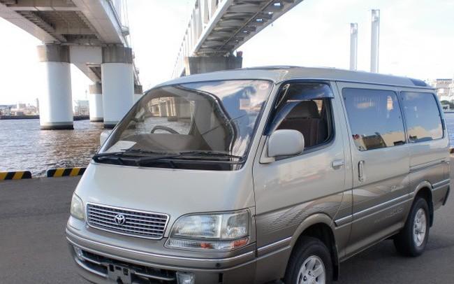 Toyota Hiace đời 1996 được đấu giá 20 triệu đồng. (Ảnh: minh họa)