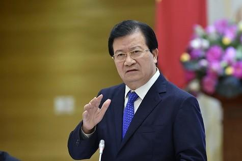 Phó Thủ tướng Trịnh Đình Dũng phát biểu tại Hội nghị - Ảnh: VGP